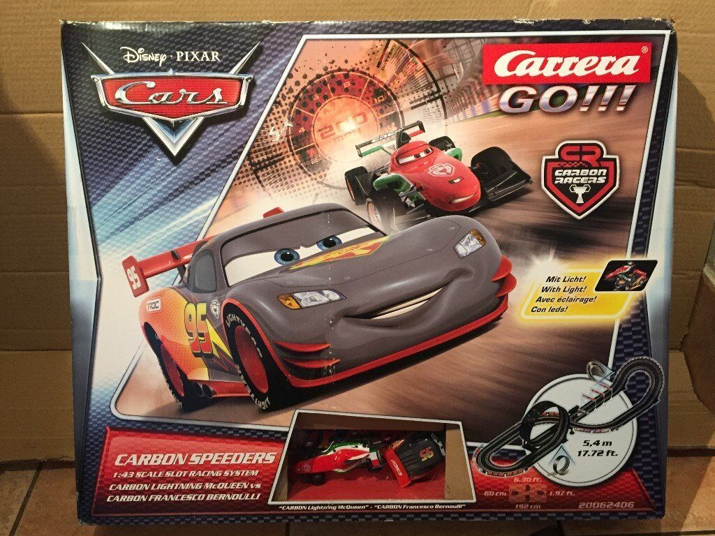 Brand new Cars, Carrera go!! In box, Damaged box RRP £35.99
