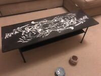 Low Coffee table japanese print