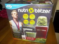 Nutri-Blitzer Juice maker.