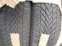 Continental TYRES conti winter contact 195/65r15 95t ( 2 PCS) Used once