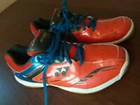 Yonex Badminton shoes. Size 9UK. Mint condition.