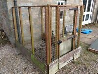 Run / cage for dog, cat, bird, whatever. 6ft x 4ft