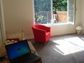 3 bed furnished maisonette, Law area, GCH, DG, parking, balcony with views