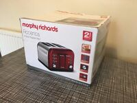 Like New Morphy Richards 4 Slice Toaster