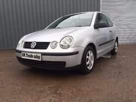 2002 VOLKSWAGEN POLO 1.2 IDEAL FIRST CAR ***FULL YEARS MOT*** similar to micra corsa fiesta clio