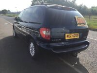 Chrysler Grand Voyager 2005 diesel 7 seater estate car