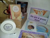 KG Hypnobirthing Christmas Gift Set - Private course, books, body lotion, affirmations cards