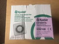 New expelair extract fan with mounting kit