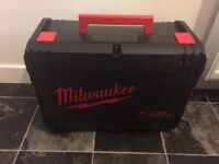 Milwaukee battery polish machine and hover
