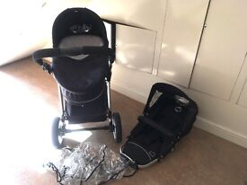 ICANDY APPLE PRAM & PUSHCHAIR FOR SALE