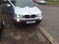 BMW X5 with !!!!!PRIVATE REG !!!!swap or part x BMW Audi seat focus st