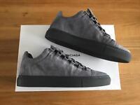 Men's Balenciaga grey suede low tops size 6
