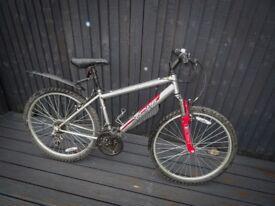 Apollo XC 26 Mountain Red and Silver Bike