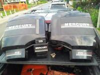 115 HP Mercury Cowlings/Hood Cover good condition