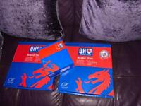Brake discs and pad set new 300mm 5 stud focus and others can deliver