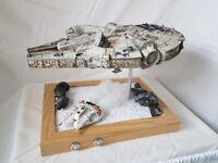 revell 1/72 star wars millenium falcon display