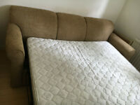 Three Seater Sofa and Queen Sleeper for sale cheap