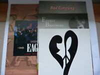 Three Vintage Tour Programmes/Booklets - Bad Cop/ Paul Rodgers /Everly Bros