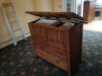 2 Pine dining/living room sideboards
