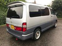 1996 toyota granvia 3.0 td Auto 8 SEATER largo bongo regius elgrand mpv hiace