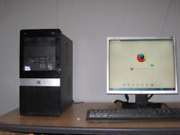Fast HP Pro 3010 PC Setup, 2.80ghz x2, 4gb DDR 3,500gb, W7, MS Office, tower £70, full £80