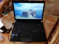 toshiba portege r830 windows 7 screen 13.3 8g memory 500g hard drive webcam wifi intel h