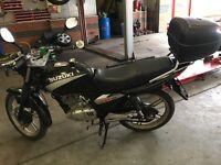 SUZUKI EN 125cc 07 REG
