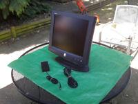 17-Inch Dell UltraSharp 1702FP DVI VGA LCD TFT Monitor FREE LOCAL DELIVERY