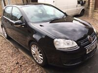 VW GOLF GT TDI 140BHP- 5 DOOR DIESEL HATCHBACK 2007