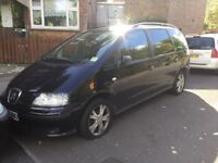 Seat Alhambra 7 Seater Automatic. Diesel