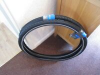 Two Pairs Of Vittoria And Schwalbe Tyres And Front And Rear Bike Lights All Items Brand New