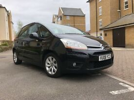 CITROEN C4 PICASSO 2008 Diesel Full Service 109k Miles 1.6HDi (110hp) VTR+ MPV 5d 1560cc EGS