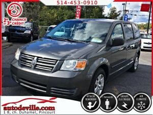 2008 Dodge Grand Caravan C/V  CARGO FINANCEMENT DISPONIBLE