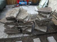Free hardcore ballast paving slabs house bricks