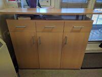 TV Unit Cupboard Perfect Condition
