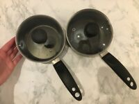 2x small saucepans (15cm diameter)