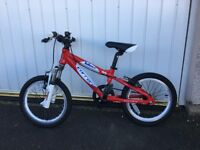 "Kids Carrera Blast 16"" Age 5-7 Lightweight Aluminium Frame Excellent Condition"