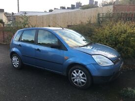 Ford Fiesta, open to offers. Needs some repair OR for spares