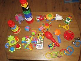 Baby / toddler toys bundle