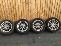 Bmw wheels alloys with tyres