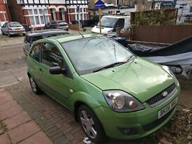 Ford Fiesta 3dr 1.2 Petrol 2006 Green - Perfect Condition