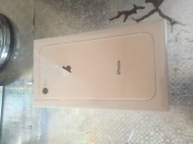 iPhone 8 Unlocked (BOXED BRAND NEW)