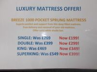 Luxury Mattress Offer!