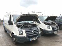 Volkswagen crafter van parts available