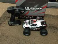 FAST RC MONSTER TRUCK 4WD CAR READY TO RUN 30MPH