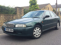 1997 ROVER 600 CHEAP AUTOMATIC, ELECTRIC WINDOWS AND MIRRORS, MOT 21 OCTOBER,