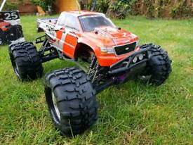 Like New Car RC with petrol engine.