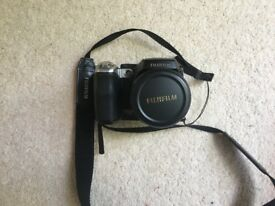 Fujifilm FinePix S Series S8100fd 10.0MP Digital Camera - Black