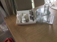 Attachments for a Magi mix food processor model no.3200..