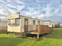 CHEAP STATIC CARAVAN FOR SALE IN AYRSHIRE, SCOTLAND NEAR GLASGOW , CHEAP SITE FEES WITH NO AGE LIMIT